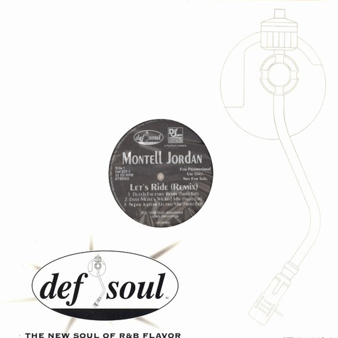Montell Jordan - Lets ride remixes