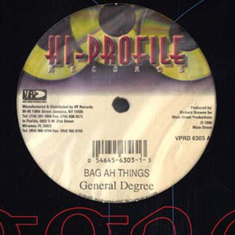 General Degree / Merciles - Bag an things / ashes to ashes