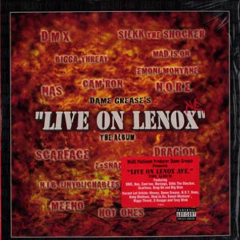 Dame Grease presents - Live on lenox