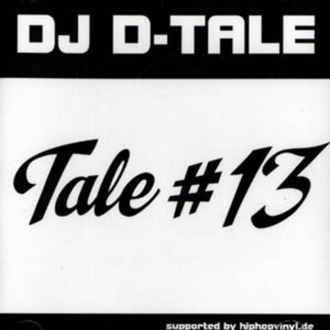 hiphopvinyl.de presents : DJ D-Tale - Tale 13