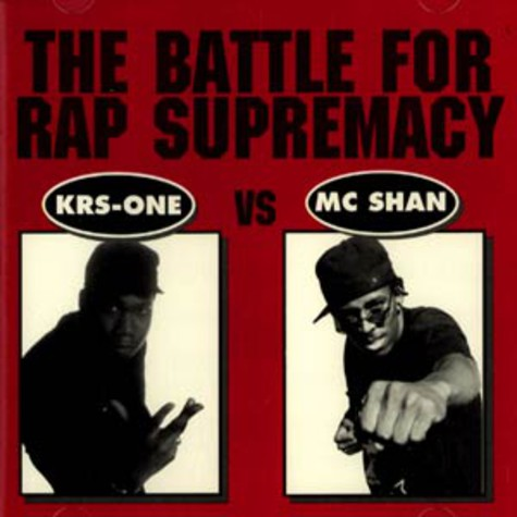Krs One & MC Shan - The battle for rap supremacy