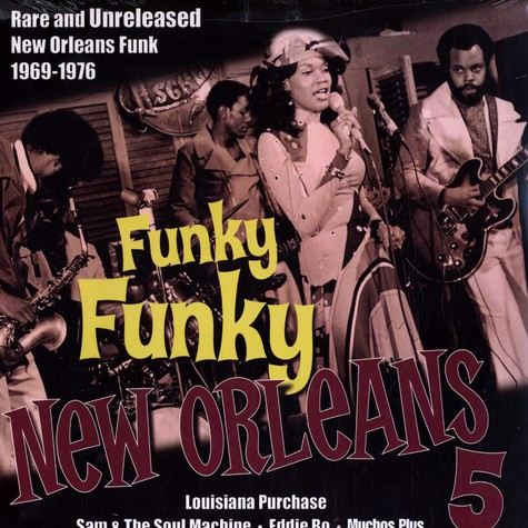 V.A. - Funky funky new orleans volume 5