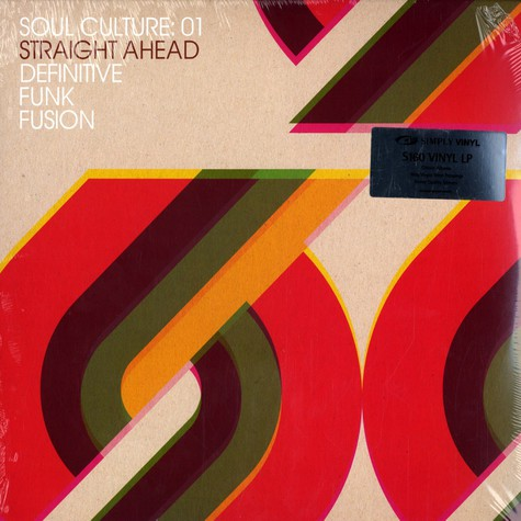 Soul Culture - Volume 01 - straight ahead: definitive funk fusion