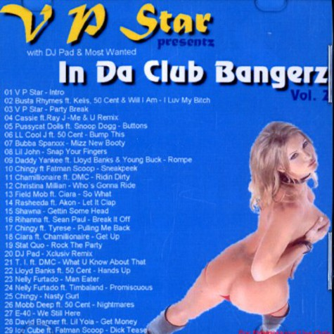 V P Star presentz - In da club bangerz volume 2