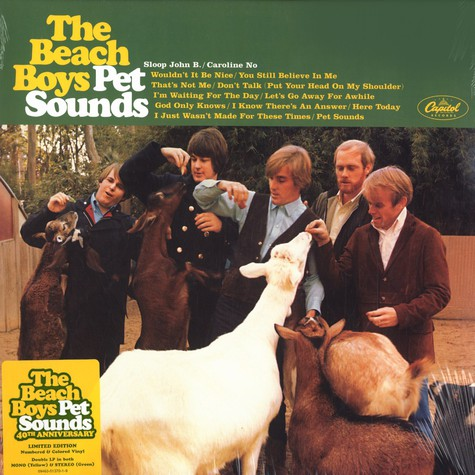 Beach Boys, The - Pet sounds 40th anniversary edition