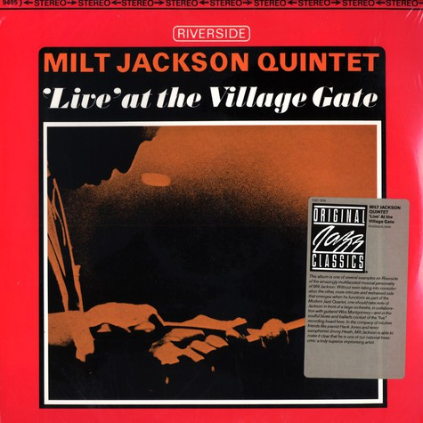 Milt Jackson Quintet - Live at the Village Gate