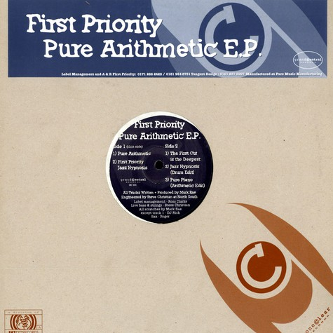 First Priority - Pure arithmetic EP