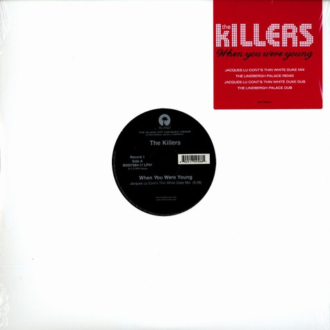 Killers, The - When you were young remixes
