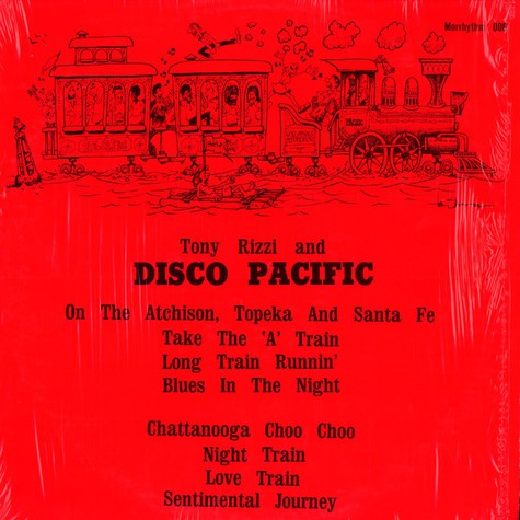 Tony Rizzi and Disco Pacific - Tony Rizzi and Disco Pacific