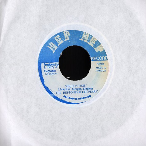 Heptones, The & Lee Perry - Serious time