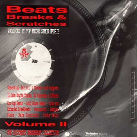 Simon Harris - Beats breaks & scratches volume 2