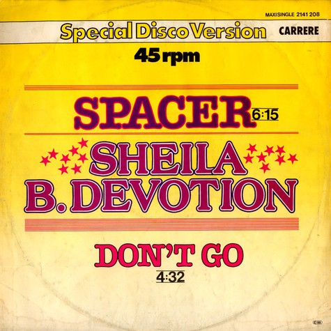 Sheila And B. Devotion - Spacer