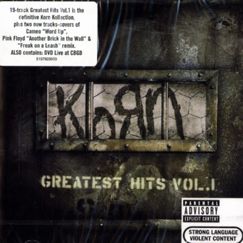 Korn - Greatest hits volume 1