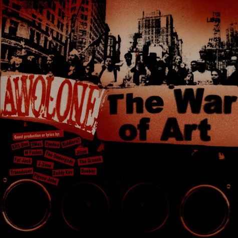 Awol One - The war of art