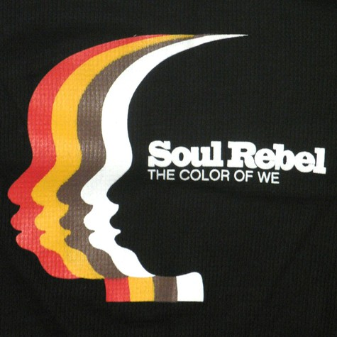 Soul Rebel - Colors of we sleeve rib