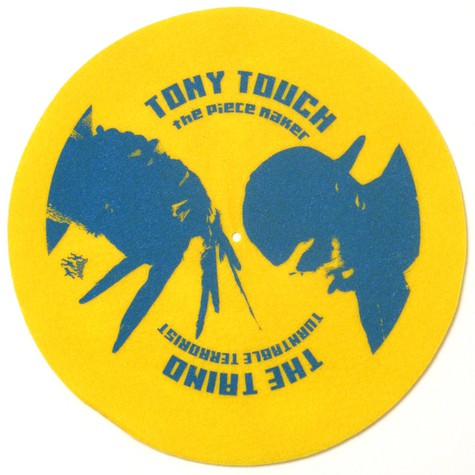 Tony Touch - The piecemaker slipmat