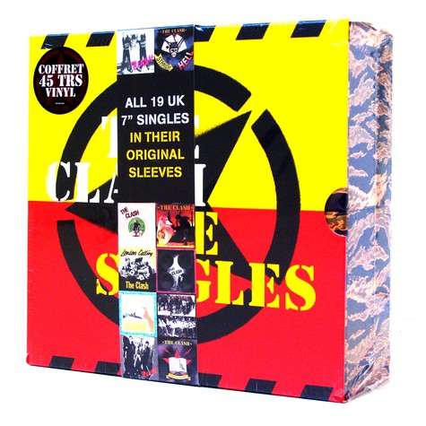 Clash, The - All 19 UK 7 inch singles