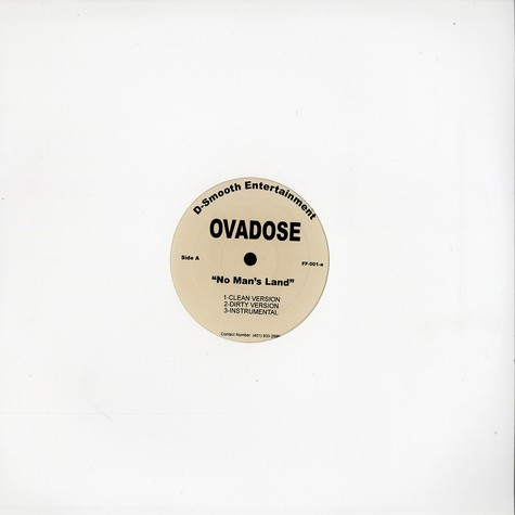 Ovadose - No man's land