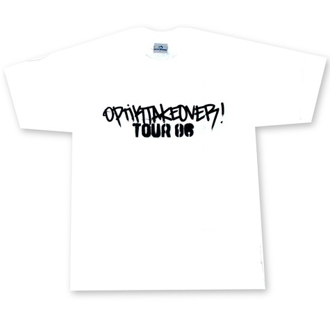 Optik Records - Takeover tour 2006 T-Shirt
