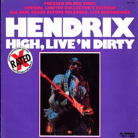 Jimi Hendrix - High, live'n dirty