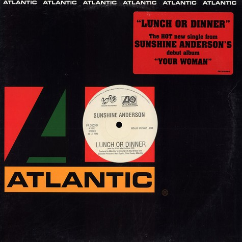 Sunshine Anderson - Lunch Or Dinner