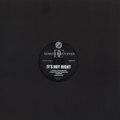 Dennis Christopher - It's not right