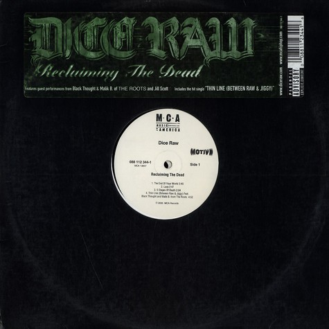Dice Raw - Reclaiming the dead