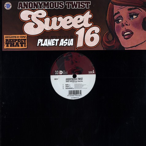Anonymous Twist - Sweet 16 feat. Planet Asia