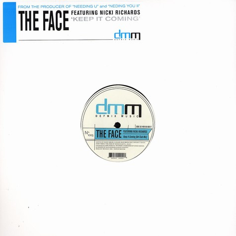 Face, The - Keep it coming feat. Nicki Richards