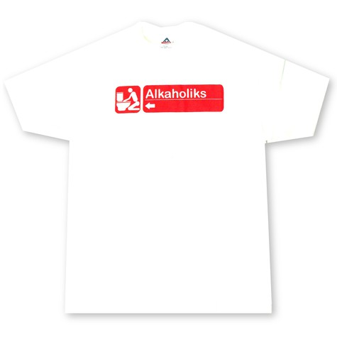 Alkaholiks - Handicap T-Shirt - red print