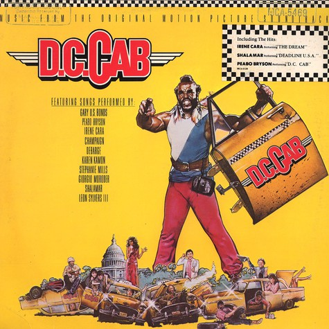 V.A. - Music From The Original Motion Picture Soundtrack - D.C. Cab