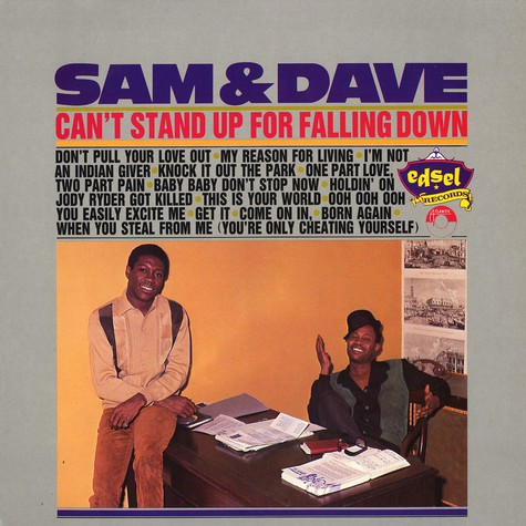 Sam & Dave - Can't stand up for falling down