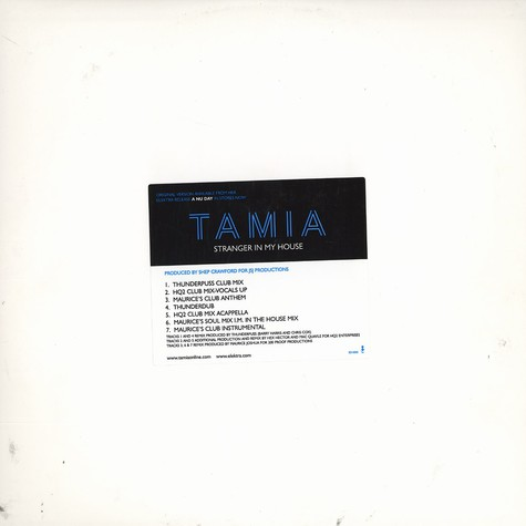 Tamia - Stranger in my house remix