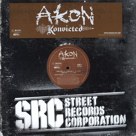 Akon - Konvicted - Vinyl 2LP - 2006 - US - Original | HHV