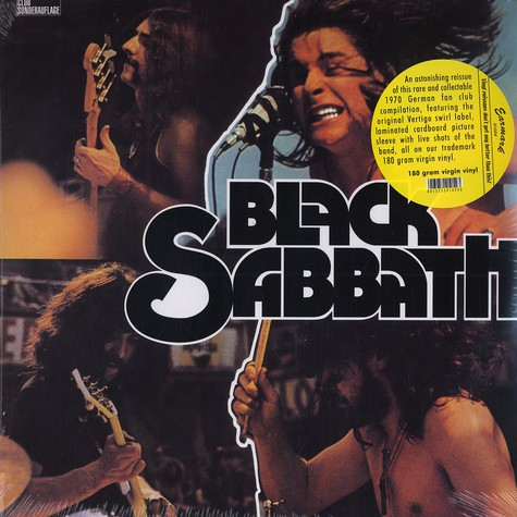 Black Sabbath - Club Sonderauflage