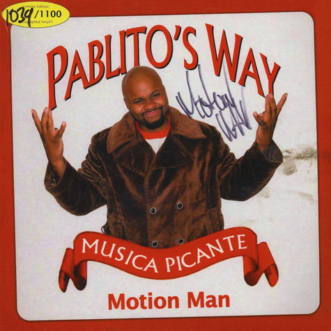 Motion Man - Pablito's Way - Musica Picante Autographed Edition
