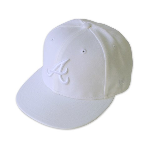 New Era - Atlanta icy white cap