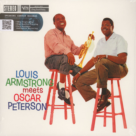 Louis Armstrong & Oscar Peterson - Louis Armstrong meets Oscar Peterson