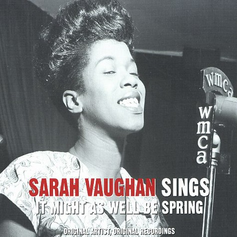 Sarah Vaughan - Sings it might as well be spring