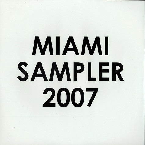 Hoxton Whores / DNA - Miami sampler 2007