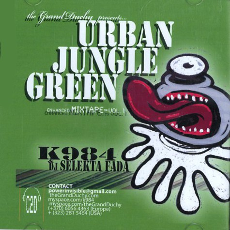 K984 & DJ Selekta Fada - Urban jungle green - enhanced mixtape volume 1
