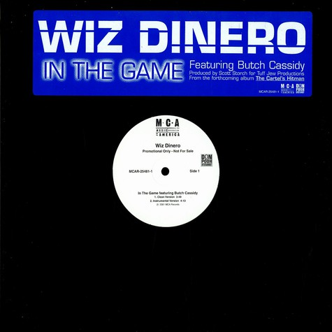 Wiz Dinero - In the game feat. Butch Cassidy