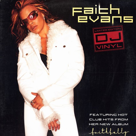 Faith Evans - Limited edtition DJ vinyl