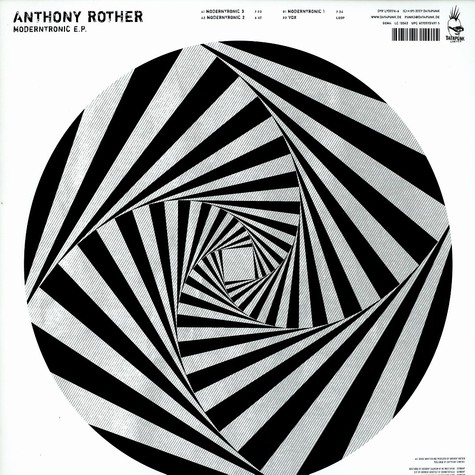 Anthony Rother - Moderntronic EP