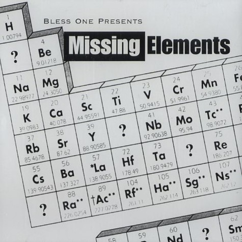Bless One - Missing elements