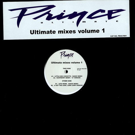 Prince - Ultimate mixes Volume 1