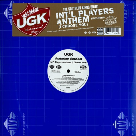 UGK - Int'l players anthem (i choose you) feat. Outkast