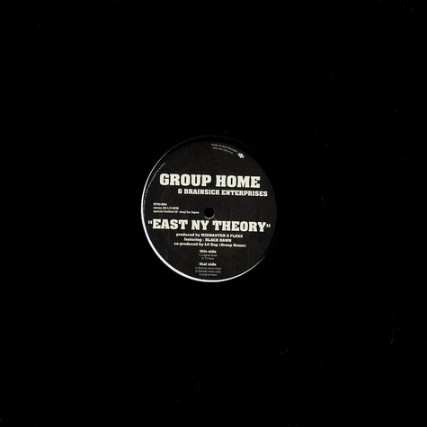 Group Home - East NY theory feat. Brainsick Mob