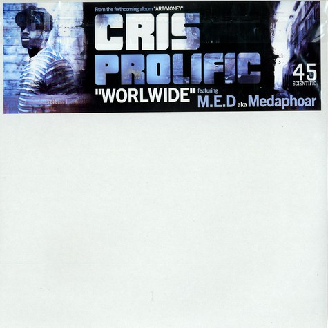 Cris Prolific - Worldwide Feat. Medaphoar