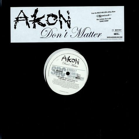 Akon - Don't Matter - The Remixes